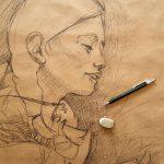 Edu Polo és l'Il·lustrador Convidat de l'abril