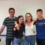 Un grup d'alumnes del col·legi Lestonnac competeix per poder desenvolupar una aplicació a Silicon Valley