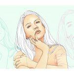 """Sílvia Iglesias: """"El que més m'agrada dibuixar són persones, i en concret retrats femenins"""""""