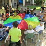 El projecte Horitzons, un intercanvi de saviesa i emocions entre les famílies de Tecletes i els avis de La Mercè