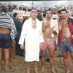 Fernando Sampietro, 25 anys banyant-se per Sant Silvestre