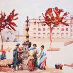 L'Espai Turisme acull una mostra d'aqüarel·les sobre Tarragona que juguen amb el simbolisme i l'actualitat