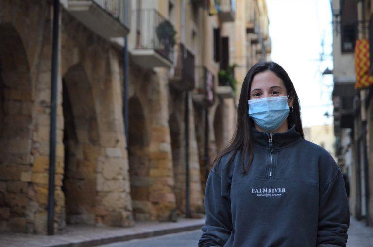 Pilar Fernández, Xiquets de Tarragona