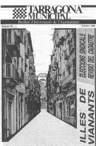 Portada butlletí municipal octubre 1986