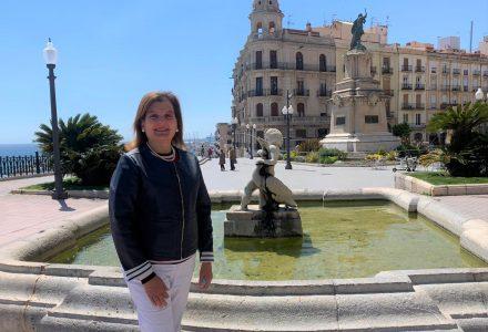 Ana Pacheco al Balcó del Mediterrani de Tarragona