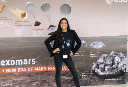 Sílvia de Castro treballa a l'Agència Espacial Europea l
