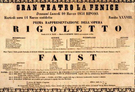 Estrena Òpera Rigoletto