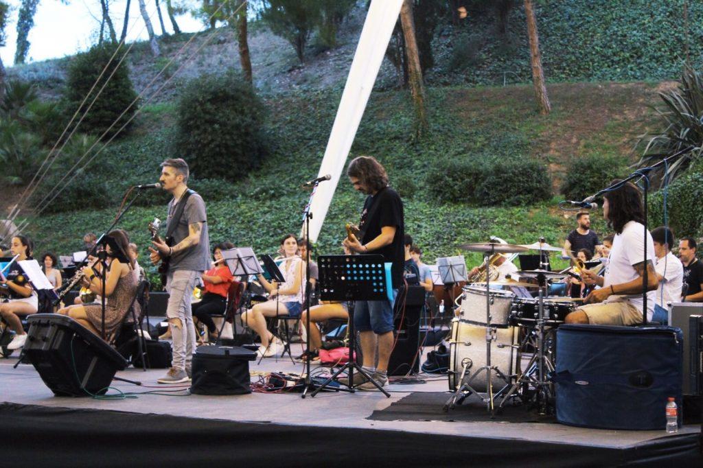 Amparito Rock Banda Unió Musical Santa Tecla